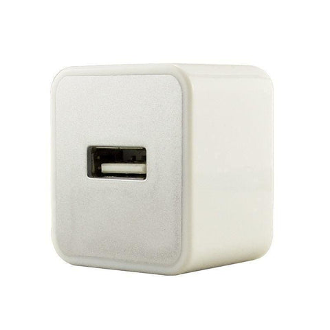 Usb Home/travel Power Adapter ( 1000 Mah) White - Phone Chargers