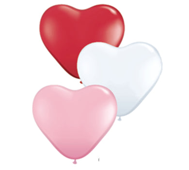 small heart balloons, bachelorette party balloons