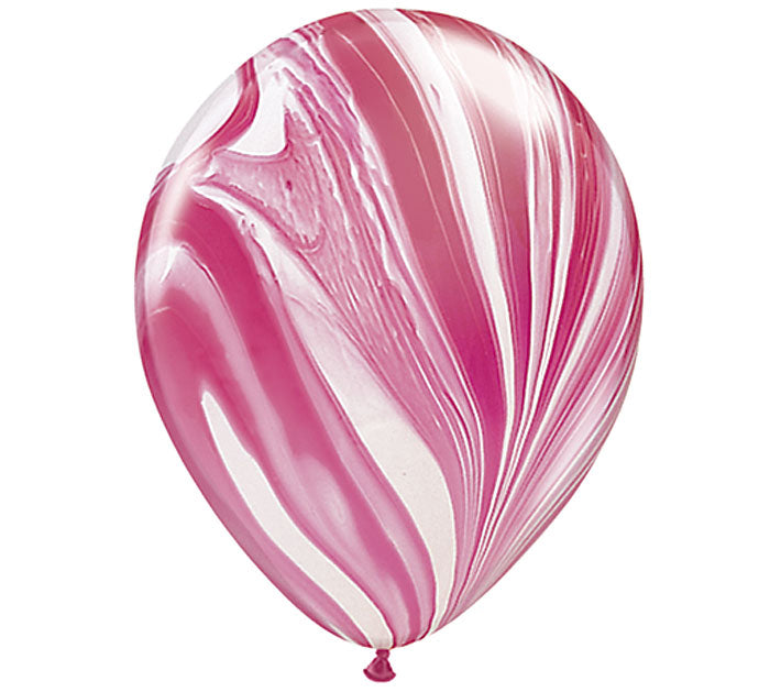 pink marble single balloon, wedding party pink, pink party, pink birthday party, pink party decorations, pink balloons