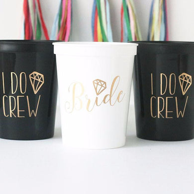 I Do Crew 16 oz Stadium Cup