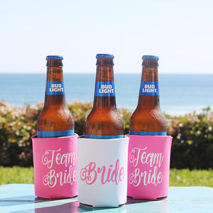 Team Bride Coozie