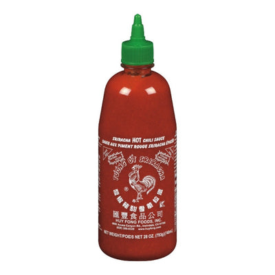 SRIRACHA SAUCE CHILI AUX PIMENT ROUGE 740 ML