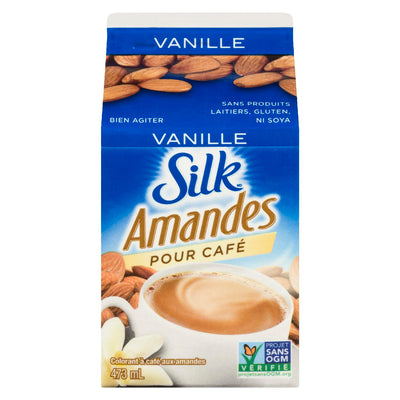 SILK COLORANT A CAFE AMANDES VANILLE 473 ML