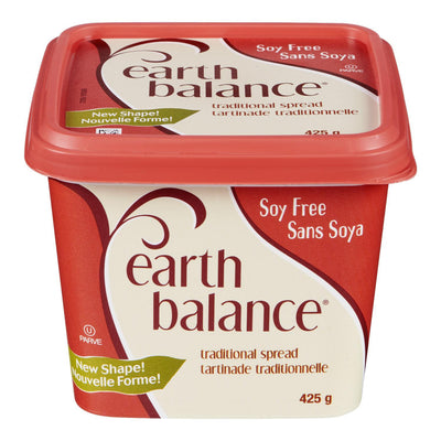 EARTH BALANCE TARTINADE TRADITIONNELLE SANS SOYA 425 G