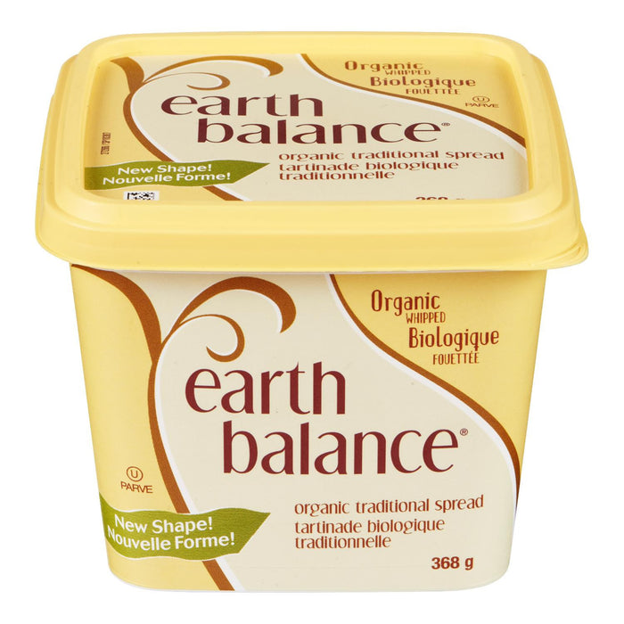 EARTH BALANCE TARTINADE TRADITIONNELLE FOUETTEE BIOLOGIQUE 368 G