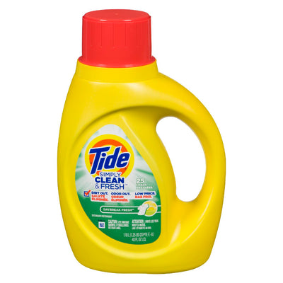 TIDE SIMPLY CLEAN & FRESH DETERGENT DAYBREAK FRESH 1.18 L