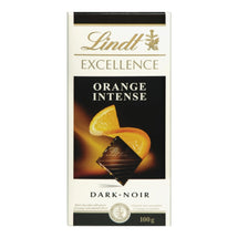 LINDT EXCELLENCE CHOCOLAT ORANGE 100 G