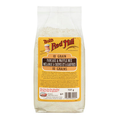 BOBS RED MILL MELANGE CREPES ET A GAUFRES 10 GRAINS 737 G