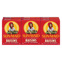 SUN MAID RAISINS SECS CALIFORNIE 6 x 30 G