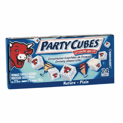 AGROPUR FROMAGE PARTY CUBE NATURE 125 G