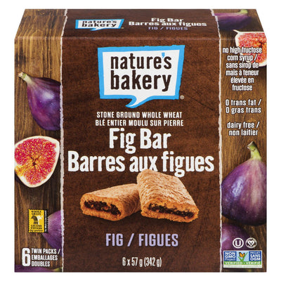 NATURE'S BAKERY BARRES AUX FIGUES 342G