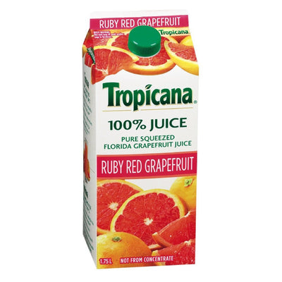 TROPICANA JUS PAMPLEMOUSSE RUBY RED 1.75 L