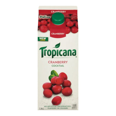 TROPICANA COCKTAIL CANNEBERGE 1.75 L