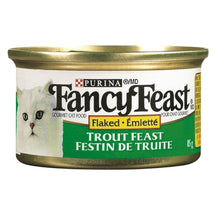 FANCY FEAST NOURRITURE CHAT TRUITE FLOCON 85 G