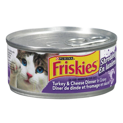 FRISKIES NOURRITURE CHAT DINDE FROMAGE 156 G