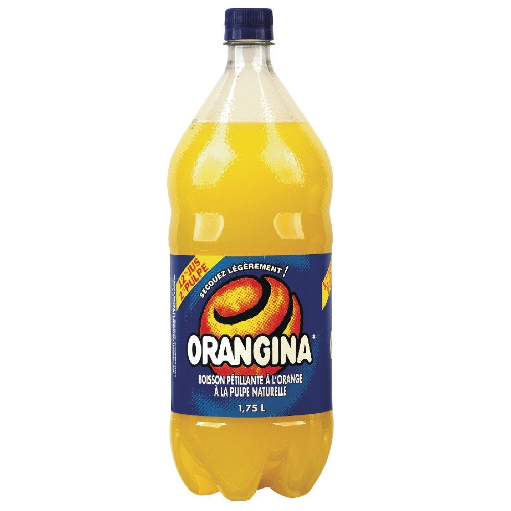 ORANGINA BOISSON PÉTILLANTE ORANGE PULPE 1.75 L