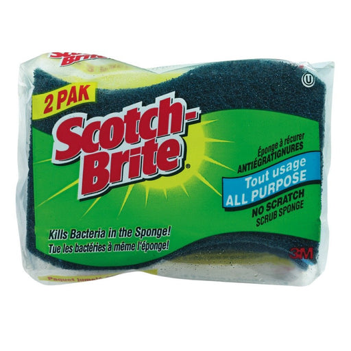 SCOTCH BRITE EPONGE TOUT USAGE 2 UN