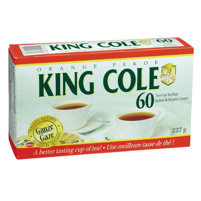 KING COLE THÉ ORANGE PEKOE 60 UN