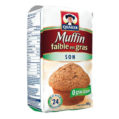 QUAKER MÉLANGE MUFFIN SON  900 G