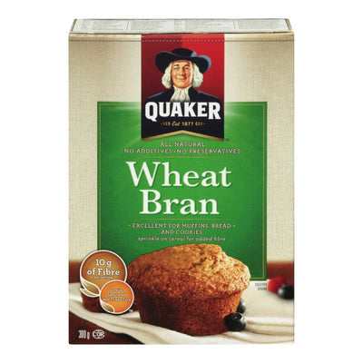 QUAKER GRUAU SON DE BLÉ NATURE 300 G