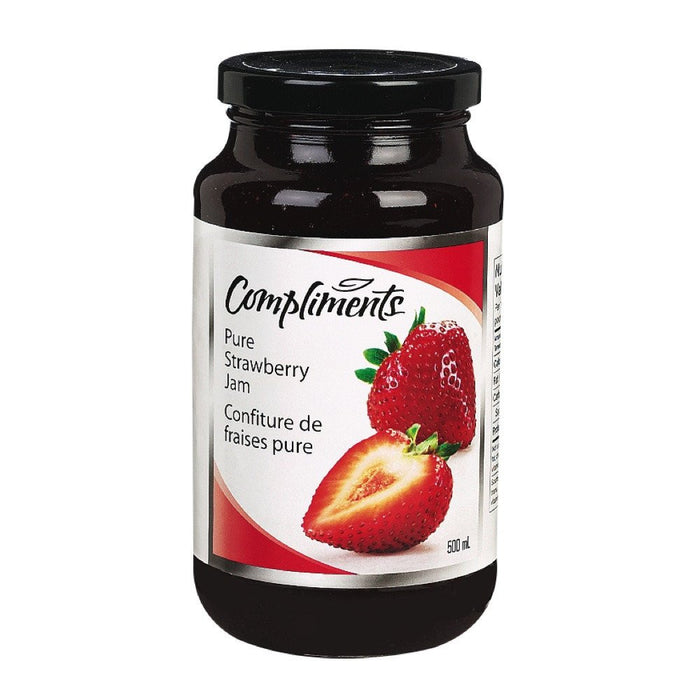 COMPLIMENTS CONFITURE FRAISE PURE 500 ML