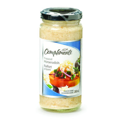 COMPLIMENTS SAUCE RAIFORT REG 250 ML