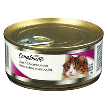 COMPLIMENTS NOURRITURE CHAT FOIE POULET 156 G