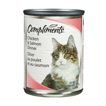 COMPLIMENTS NOURRITURE CHAT POULET SAUMON 374 G