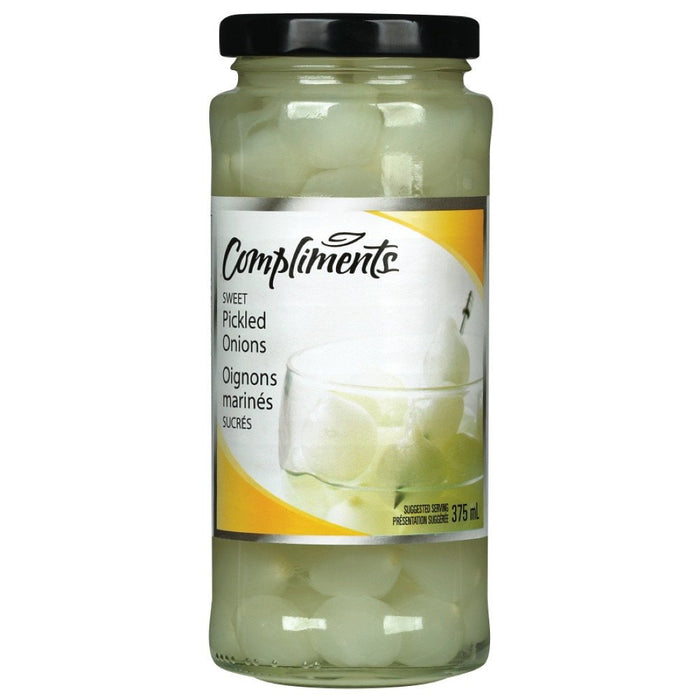 COMPLIMENTS OIGNONS BLANCS SUCRES 375 ML