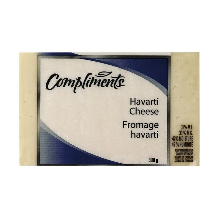 COMPLIMENTS FROMAGE HAVARTI 300 G