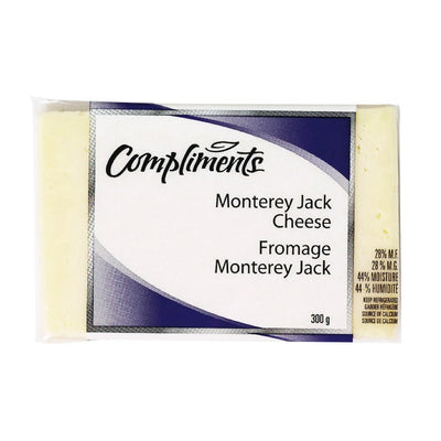 COMPLIMENTS FROMAGE MONTERY JACK 300 G