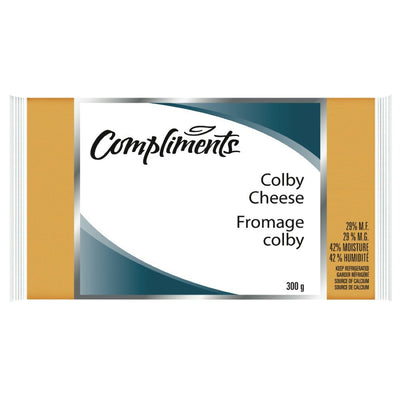 COMPLIMENTS FROMAGE COLBY 300 G