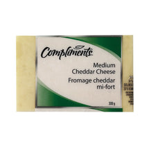 COMPLIMENTS FROMAGE CHEDDAR BLANC MI-FORT 300 G