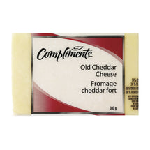 COMPLIMENTS, FROM CHEDDAR FORT BLANC, 300 G