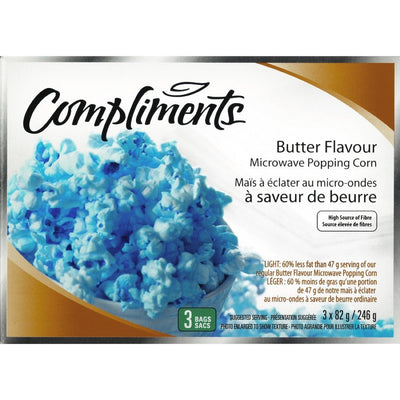 COMPLIMENTS MAIS ECLATER M-O BEURRE 60%MG 246 G