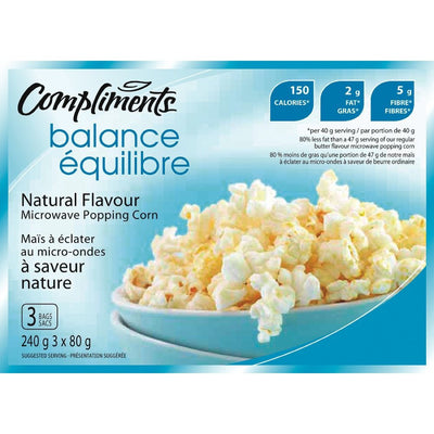 COMPLIMENTS ÉQUILIBRE MAIS ECLATER NATURE 240 G