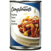 COMPLIMENTS SAUCE POUTINE 398 ML