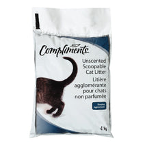 COMPLIMENTS LITIERE CHATS AGGLOMERANTE 4 KG
