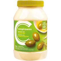 COMPLIMENTS, MAYONNAISE HUILE D'OLIVE, 890 ML