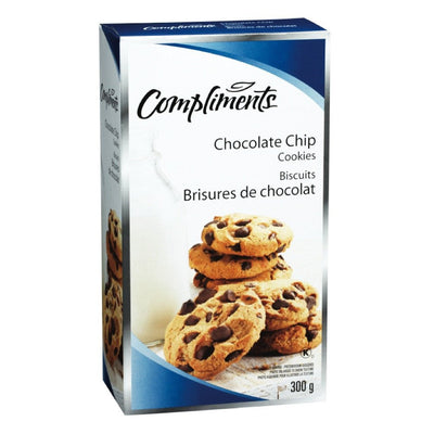 COMPLIMENTS BISCUITS AUX BRISURES DE CHOC 300 G