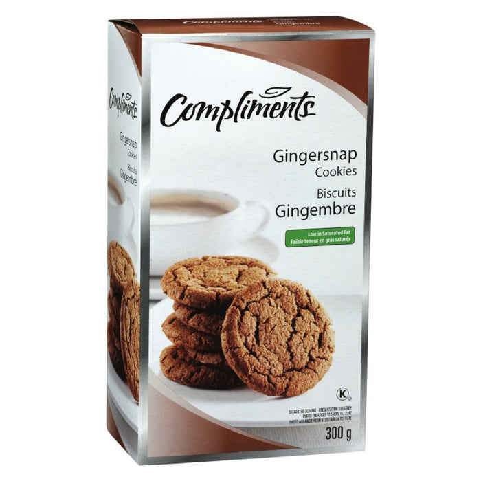 COMPLIMENTS BISCUITS AU GINGEMBRE  300 G