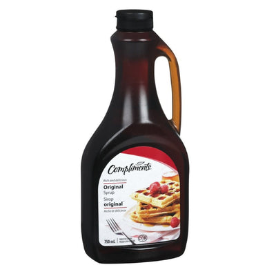 COMPLIMENTS SIROP DE TABLE ORGINAL 750 ML