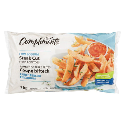 COMPLIMENTS FRITES COUPE BIFTECK MOINS SODIUM  1 KG
