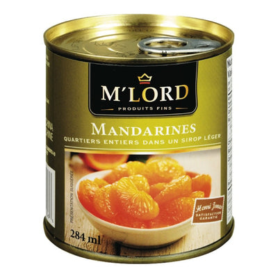 M'LORD MANDARINES SIROP LEGER 284 ML