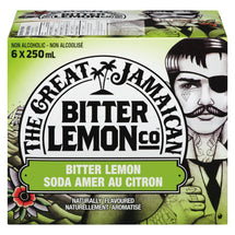 THE GREAT JAMAICAN, SODA AMER AU CITRON, 6X250ML