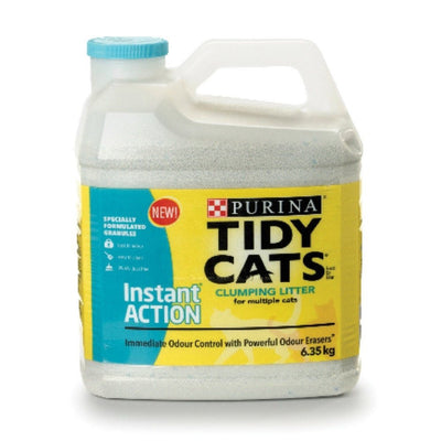 PURINA TIDY CATS LITIERE AGGLOMERANTE ACTION INSTANTANEE 6.35 KG