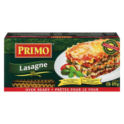 PRIMO LASAGNES DIRECT AU FOUR 375 G