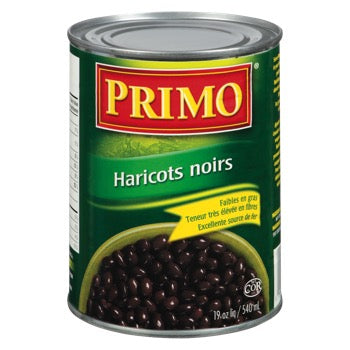 PRIMO HARICOTS NOIRS 540 ML