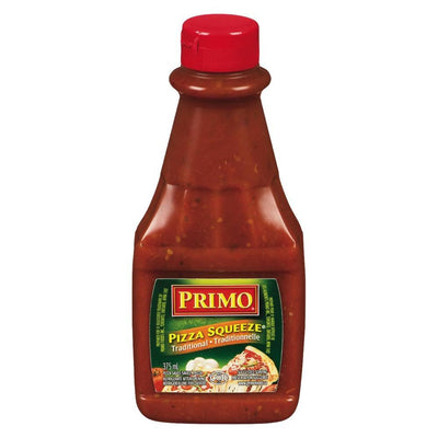 PRIMO SAUCE PIZZA SQUEEZE TRADITIONNEL 375 ML