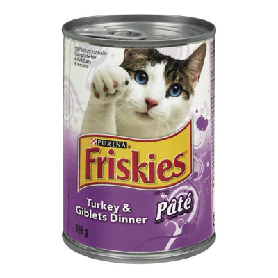 FRISKIES NOURRITURE CHAT DINDE ABATS 368 G